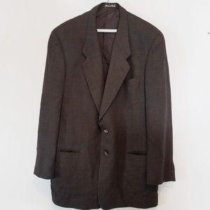 Georgio Armani Le Collezioni 100% Pure Wool Blazer